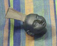 модель головы куклы