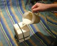 заливка фарфора в форму